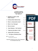 Nonprofit Guide to Working With The Media Workshop
