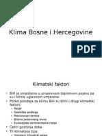 Klima Bosne i Hercegovine
