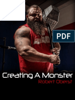Robert Oberst Creating a Monster