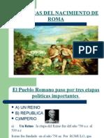 2- Teorias Del Nacimiento de Roma