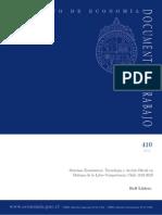 Sistema Economico de Chile 1810 - 2010