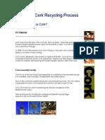 Cork Recycling Process