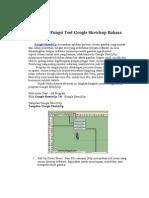 Nama Dan Fungsi Tool Google Sketchup Bahasa Indonesia