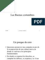 Luis F. Velásquez - Curso de Ética (Las Buenas Costumbres)