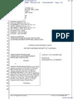 Video Software Dealers Association et al v. Schwarzenegger et al - Document No. 103