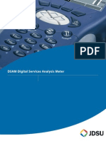 JDSU Acterna DSAM Series Digital Services Analysis Meter Data Sheet.pdf