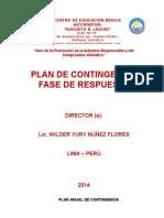 Plan de Gestion de Contingencia 2014