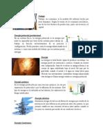 Clases de Energia en La Naturaleza