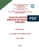 Plan de Gestion de Riesgo 2014