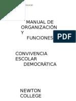MANUAL DE ORGANIZACION Y FUNCIONES  convivencia-escolar NEWTON COLLEGE (1).doc