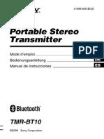 Sony BT Trasmisor