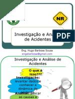 Investigação de Acidentes - Aula 1e2