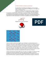 Composicion y Caracteristicas de La Molecula de Agua1