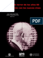 HUESO PINILLA, CARLOS.el Cine de Terror de Los Años 60 y Su Relación Con Los Nuevos Cines