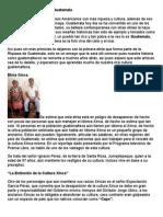 Origen de Los Pueblos de Guatemala
