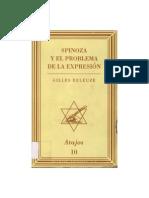 DELEUZE, Gilles (1968) - Spinoza y el problema de la expresión (Muchnik, Barcelona, 1996-1999)