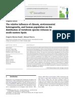 Publicación científica - Acta Oecologica