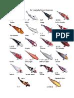 fish koi japan