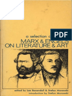 Marx & Engels - On Literature and Art