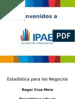 Sesion1-2-3-4 -5estadistica Para Negocios Iiisemestre2014