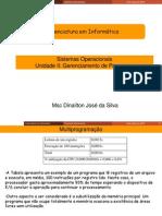 Sistemas Operacionais - Unidade II