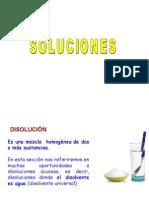 Quimica Inorganica - Disoluciones