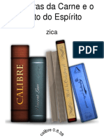 As Obras da Carne e o Fruto do Espirito - zica.epub