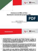 Mdo. Carbono MDL_Peru