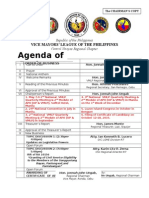 Agenda of Business April 2015a