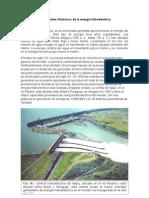 Antecedentes Históricos de La Energía Hidroeléctrica