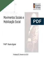 Movimentos Sociais e Mobilização Social - Apresentação - EM PDF