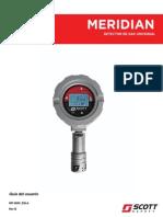 Manual Meridian User 087-0049 ESLA REV B