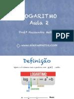 Logaritmo - Aula 2
