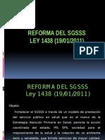 Clase 3 - Reforma Ley 1438 2011