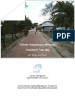 Climate Change Impact Modeling Institutional Road Map - 2006