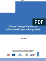 Climate Change, Gender and Vulnerable Group - 2009