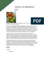 frutos Climatéricos