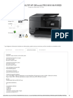 Impresora Multif Hp Officejet Pro 8610 Wi-fired