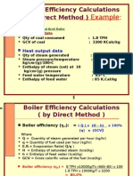 4B. BOILER Efficency-D,ID Oil Fired