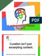 14 Blog Curation Models