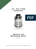 Hdi2021 Manual