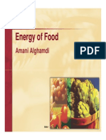 Microsoft PowerPoint - Food Energy Lecture 2