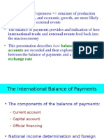 Balance of Payments(1)