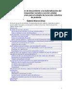 Planteamientos teóricos análisis acción colectiva