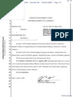 Netflix, Inc. v. Blockbuster, Inc. - Document No. 184