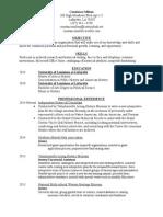 resume cv4 12 15