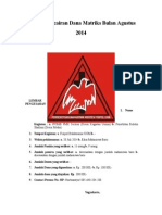 Proposal Pencairan Dana Matriks Bulan Agustus[1]