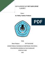Patologi Dan Gangguan Metabolisme Lanjut (Autosaved)