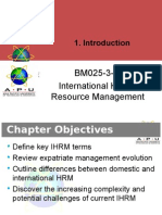 Chapter 3 International Human Resource Management