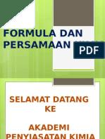 Formula Empirik